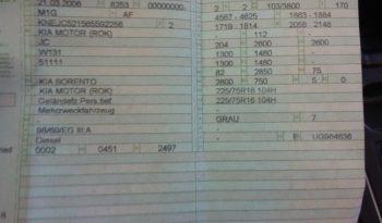 Kia Sorento 2.5 CRDi EX full