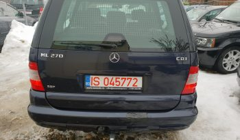 Mercedes-Benz M-Klasse ML 270 CDI full