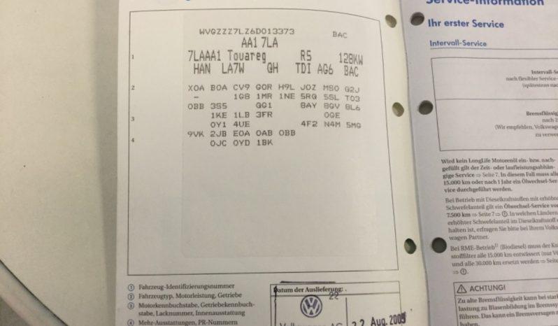 Volkswagen Touareg 2.5 TDI R5 full