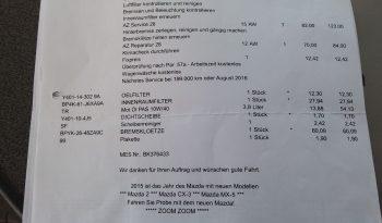 Mazda 3 1.6 CD Diesel Sport 1,6Ltr./66KW CD90 TE full